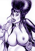Sexiest Vampirella cruel fucking and sucking act
